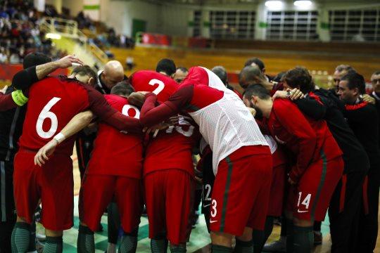 Futsal: Seleção A vai jogar dois particulares com Brasil em Lisboa