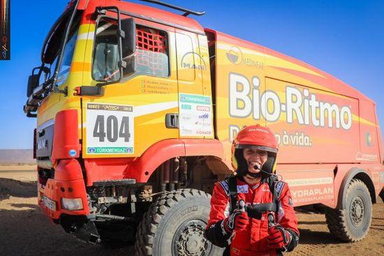 Africa Eco Race 2019 - Elisabete Jacinto continua inabalável entre os camiões