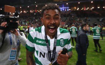 Taça da Liga: A festa dos jogadores do Sporting | FOTOGRAFIAS