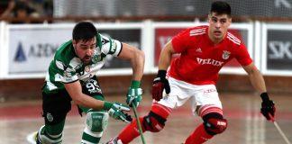 Hóquei em Patins: Sporting foi à Luz dominar o Benfica (1-4)