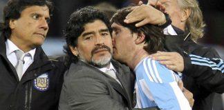 Maradona sobre Messi Quero fazê-lo líder, mas ele não o vai ser