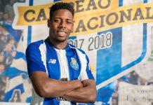 Wilson Manafá assinou pelo FC Porto até junho de 2023