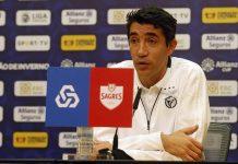"""Bruno Lage: """"Quem representa este emblema tem implícita a ambição de vencer sempre"""""""