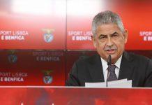"""LF Vieira: """"A primeira opção do Benfica é este senhor ao meu lado, Bruno Lage"""""""