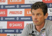 """Nuno Manta: """"Queremos que os nossos adeptos saiam do estádio orgulhosos da equipa"""""""