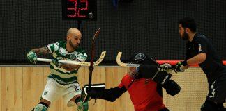 Hóquei em Patins: Muito Sporting para o esforçado Marinhense(14-3)