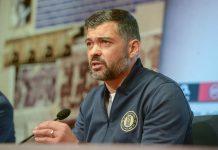 """Sérgio Conceição: """"Pepe esteve no banco em Alvalade, porque estava disponível para jogar"""""""