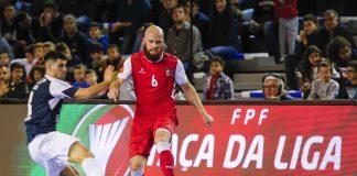 Taça da Liga Futsal: SC Braga e Modicus apurados para as meias-finais
