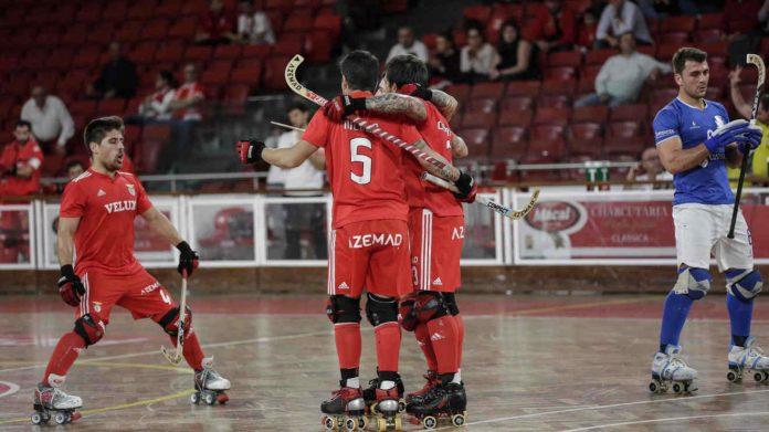 Hóquei em Patins: SL Benfica vence HC Braga por 6-2