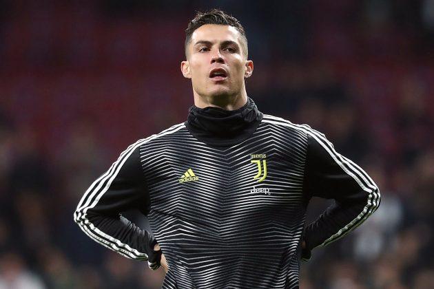Cristiano Ronaldo: O aquecimento antes do Atlético de Madrid - Juventus | FOTOGRAFIAS