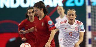 Euro Futsal Feminino: Final - Espanha 4-0 Portugal | FOTOGRAFIAS