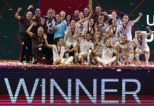 Espanha consagra-se campeã europeia de futsal feminino