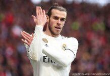 O manguito de Gareth Bale para os adeptos do Atlético de Madrid | FOTOGRAFIAS