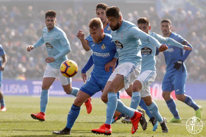 Celta perde em Getafe (3-1) e culpa arbitragem e VAR pela derrota