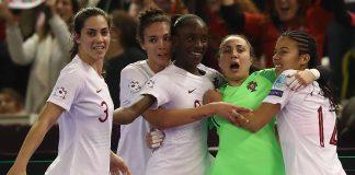Seleção Nacional feminina de futsal está na final do campeonato europeu