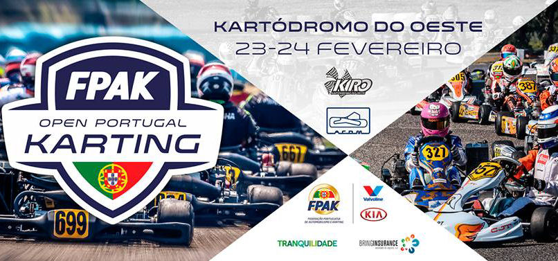 Open de Portugal abre época do Karting no Bombarral