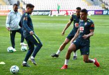 A selecção do Brasil já treinou no Estádio do Bessa Sec XXI
