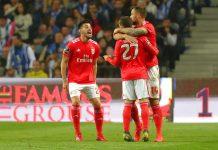Benfica vence o FC Porto por 1-2 e assume a liderança da Liga NOS