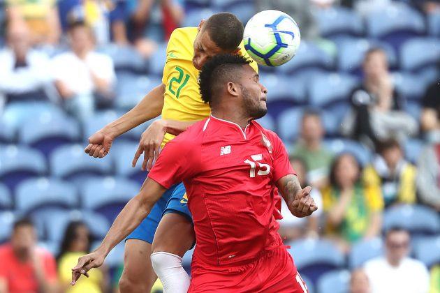 Brasil 1-1 Panamá   FOTOGRAFIAS