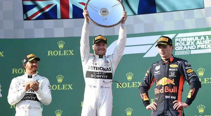 Vitória de Bottas e dobradinha da Mercedes no GP da Austrália