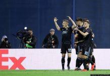 Liga Europa: Benfica forçado a virar resultado depois de derrota em Zagreb (1-0)