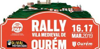 Rally Vila Medieval de Ourém sábado (16 março) na estrada