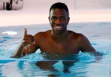 La Liga: Vinicius recupera na piscina