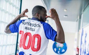 """Marega veste """"Camisola 100"""" e deixa mensagem para a final da Taça"""