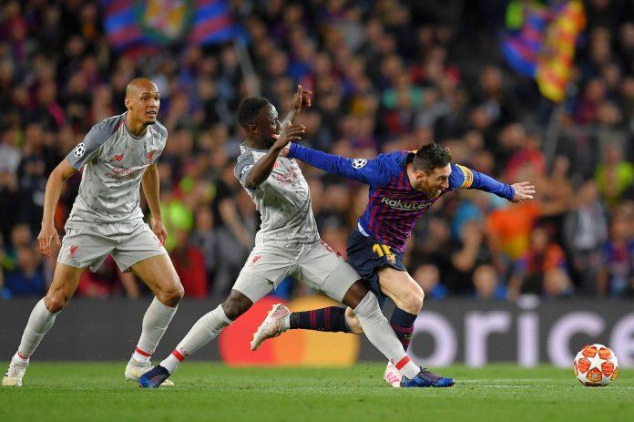 Bis de Messi e golo de Suarez adiantam Barça na eliminatória frente ao Liverpool