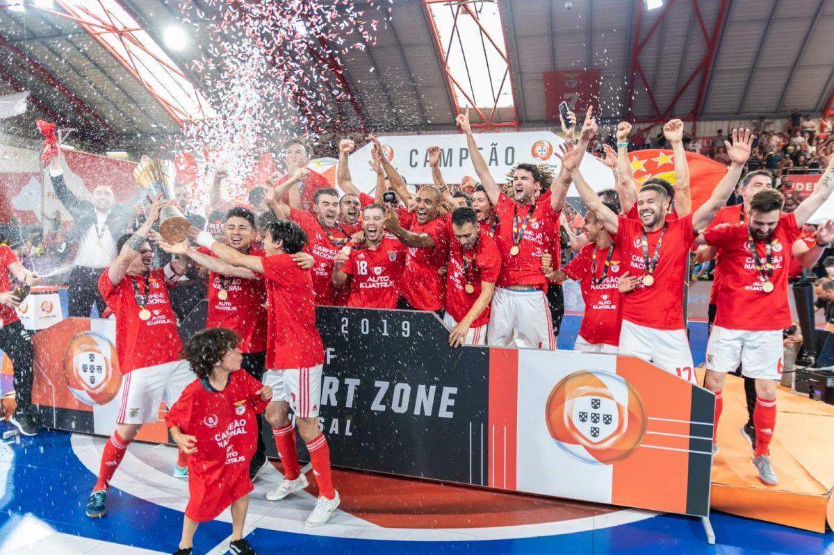 Benfica é campeão nacional de futsal
