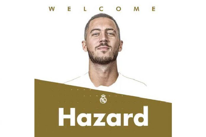 Oficial La Liga: Hazard é jogador do Real Madrid