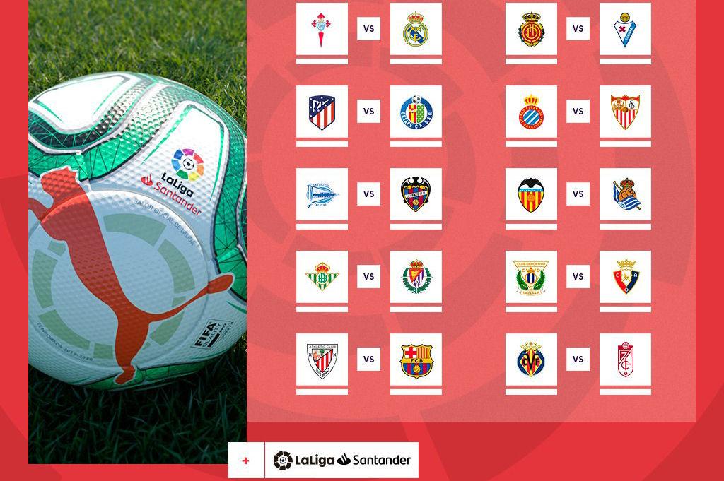 Calendario 2020 Liga.Ja Se Conhece O Calendario La Liga 2019 2020 Sport On Stage