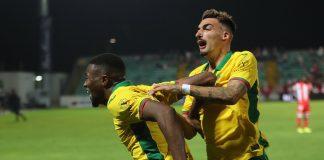 Primeira vitória do Paços de Ferreira na liga (2-1) ao derrotar o CD Aves