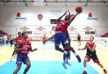 Basquetebol: Campeão UD Oliveirense vence Maia Basket e soma 2ª vitória