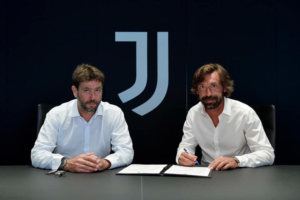 Andrea Pirlo sucede a Sarri no comando técnico da Juventus