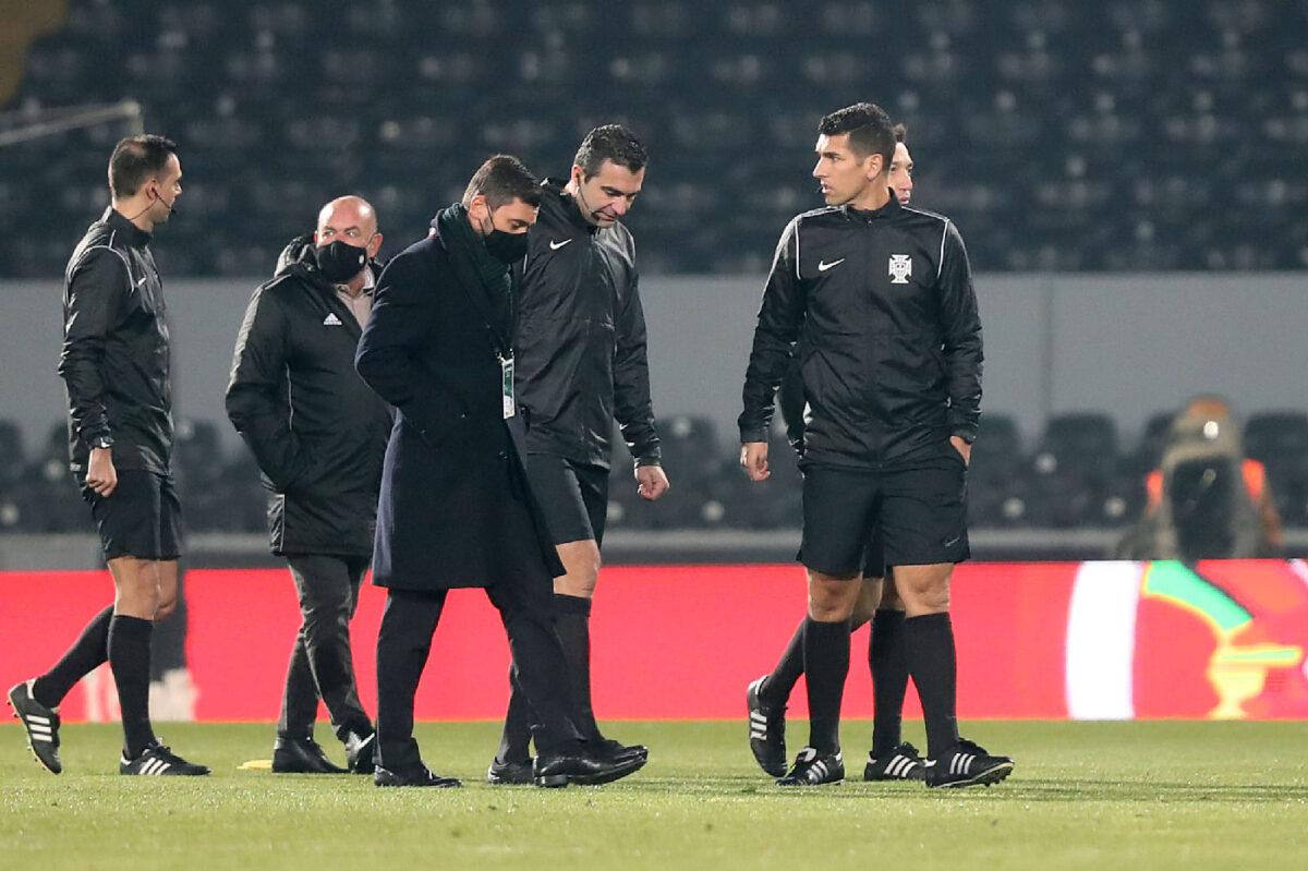 Vitória SC vs. SC Farense: o jogo que não se jogou… | FOTOGRAFIAS