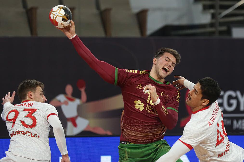 Portugal esmaga Marrocos no 2º jogo do Mundial de Andebol