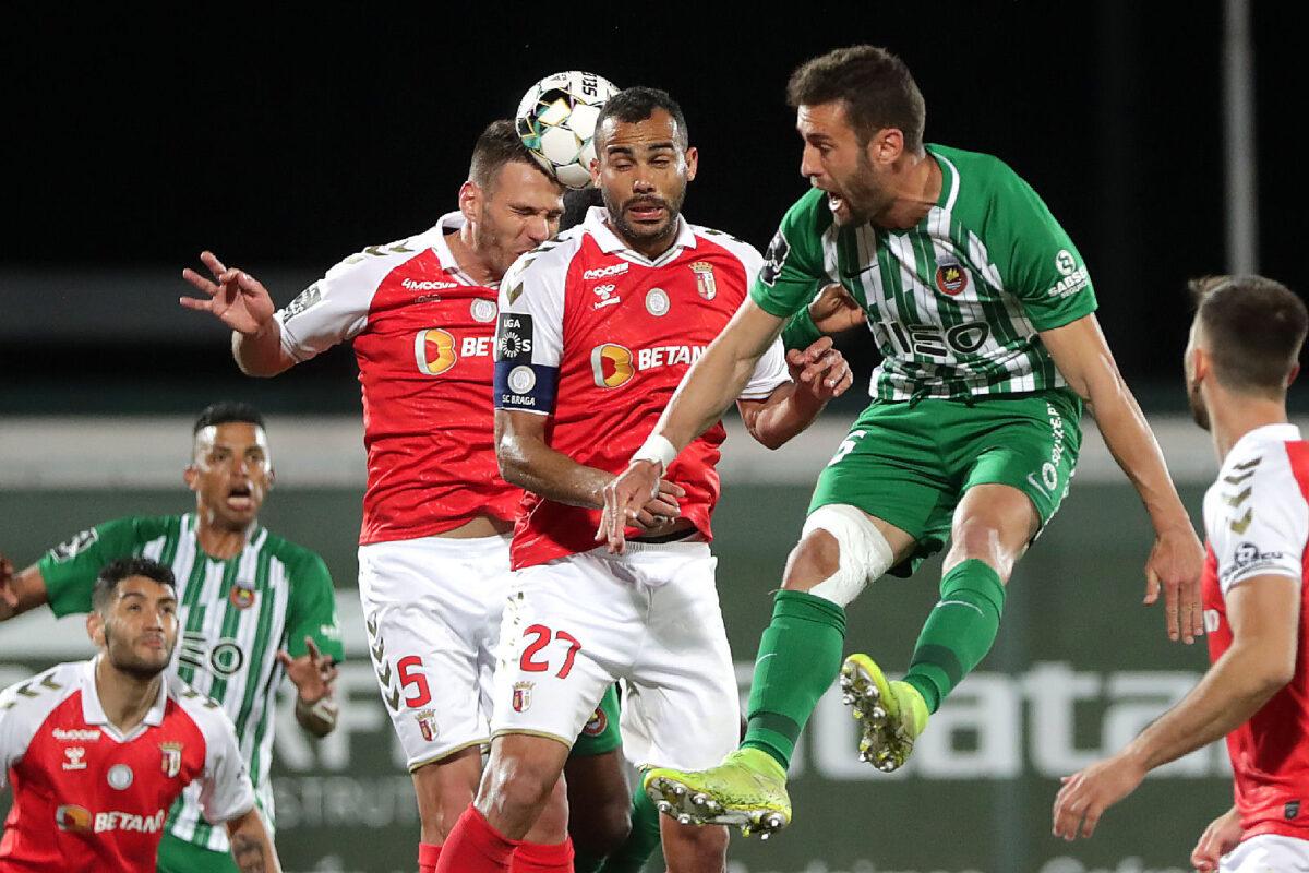 Braga empata em Vila do Conde e não aproveita desaire do Benfica