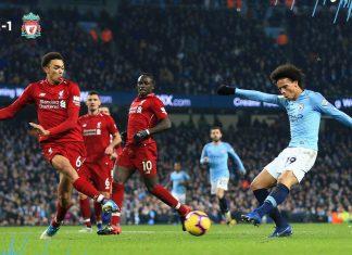 Premier League: Manchester City acaba com a invencibilidade do Liverpool