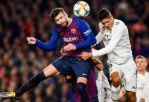 Barcelona e Real Madrid e deixam a final da Copa del Rey em aberto