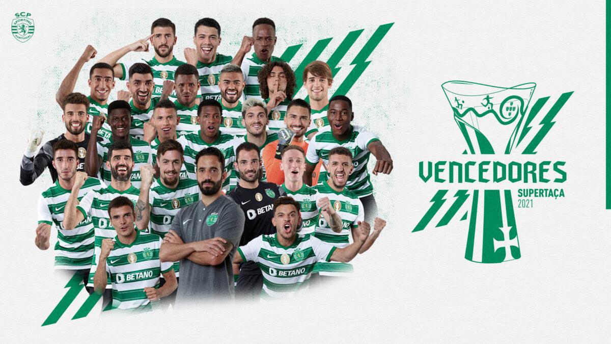 Sporting vence o Braga por 2-1 e conquista a Supertaça Cândido de Oliveira
